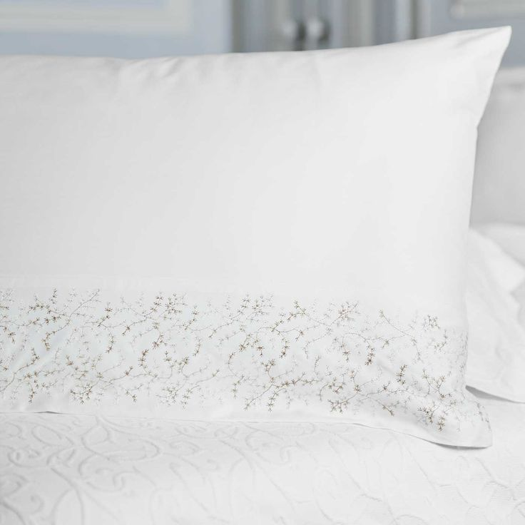 Kelly pillowcases with their warm and beautiful detailing.