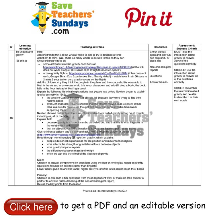 33 best images about Year 5 Forces lesson plans worksheets and – Lesson Plan Worksheets