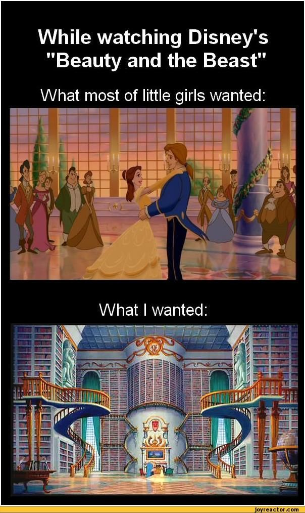 My version of heaven is that library.: Dreams Libraries, Little Girls, Dreams Houses, Books Nerd, So True, The Beast, True Stories, Thebeast, Disney Movie
