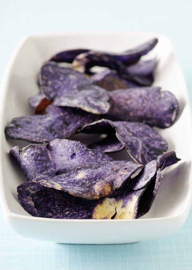 Chips de frutas y verduras