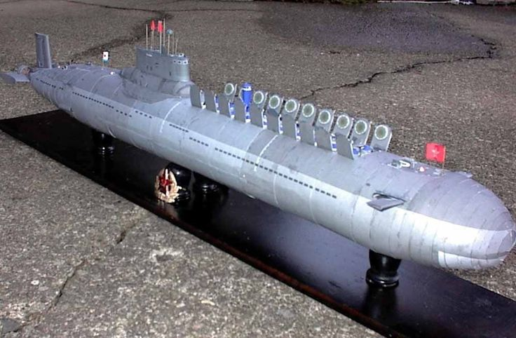 Red October prototype in November 1984 launched the latest model of the Soviet Red Navy Typhoon class nuclear submarine. The submarine displacement of up thirty-two thousand tons, is the world's largest nuclear-powered submarine, equipped with a large number of nuclear warheads and ballistic missiles. | eBay!