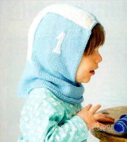 Шапки шапка-шлем для ребенка фото к описанию