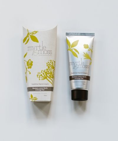 Sublime Hand Cream – Mandarin, Lemon Myrtle & Orange Peel at Myrtle & Moss