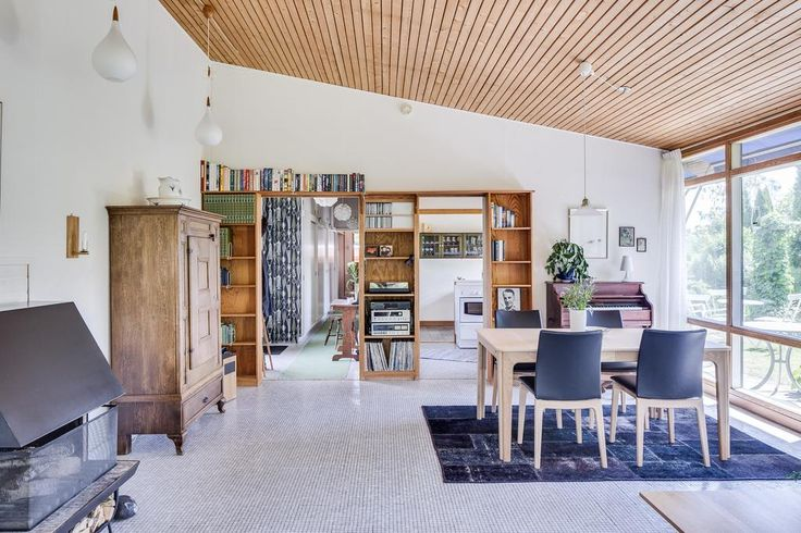 Detached house situated in Värnamo by the swedish designer Bruno Mathsson.