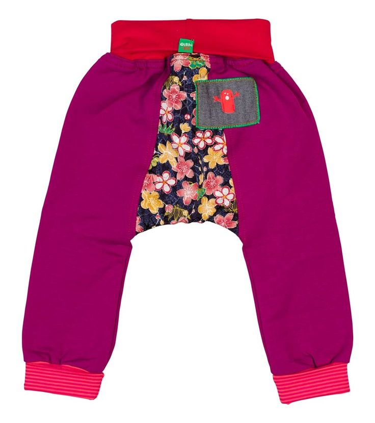 Orchid Track Pant, Oishi-m Clothing for kids, Winter Interjection15, www.oishi-m.com
