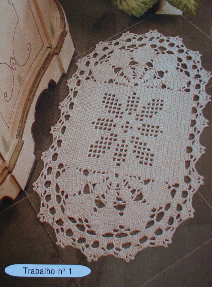 1170 Best Images About Tapetes Crochet On Pinterest