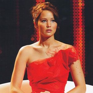 The Hunger Games. Katniss pre-games interview.