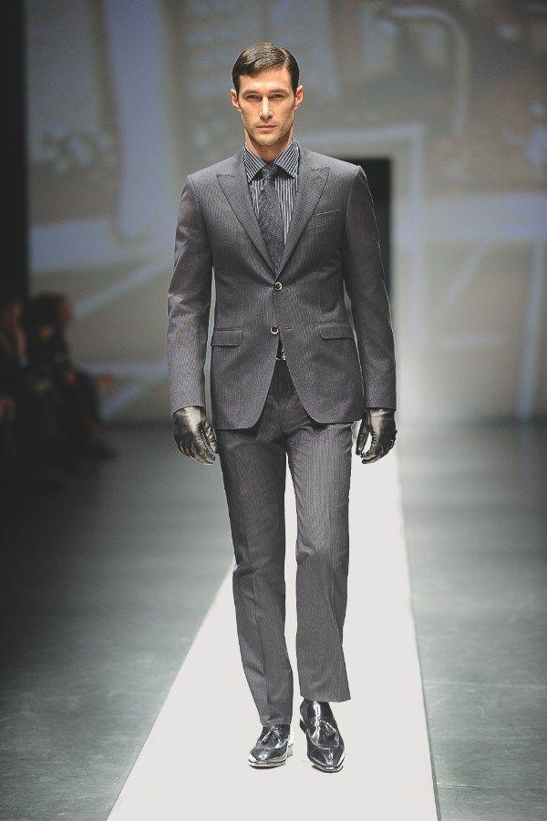 mens modern suits | men's designer suit canali AW10 looks 1 | The Monsieur