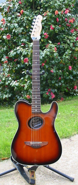 Fender Telecoustic Sunburst