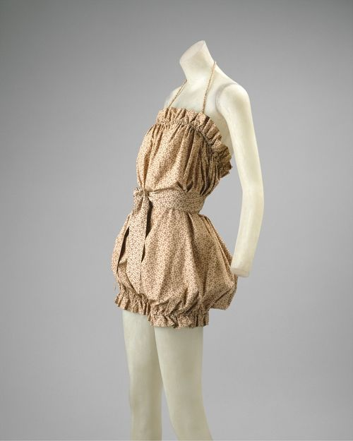 Claire McCardell playsuit ca. 1945 via The Costume Institute of the Metropolitan Museum of Art