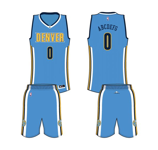 Denver Nuggets Jersey History: 25 Best Denver Nuggets All Jerseys And Logos Images On
