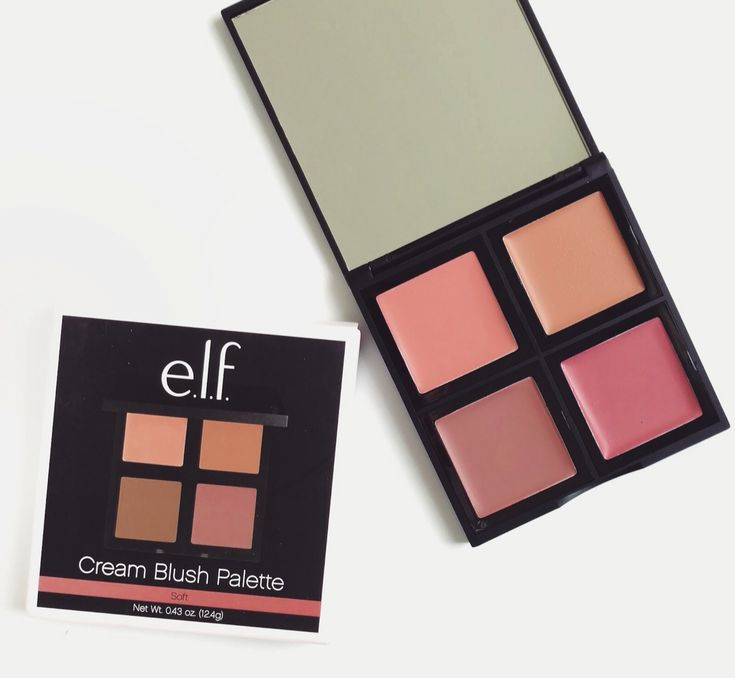 Elf Soft Cream Blush Palette