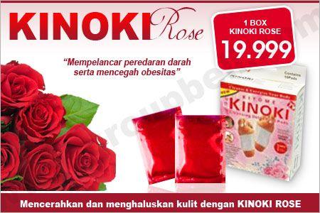 Kulit tampak lebih cerah dan halus serta tubuh lebih kencang dengan Kinoki Rose hanya Rp 19.999 http://www.groupbeli.com/view.php?id=518