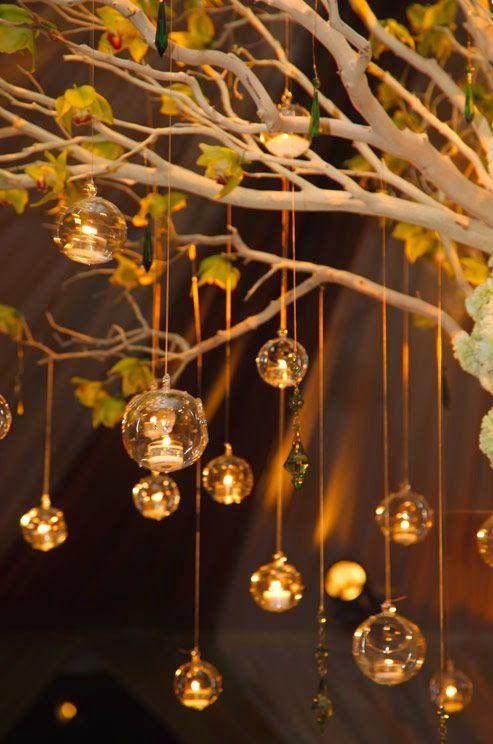 Ślub i wesele - pomysły i inspiracje na dekoracje i atrakcje: 3 sposoby na wykorzystanie świec w dekoracji sali weselnej!