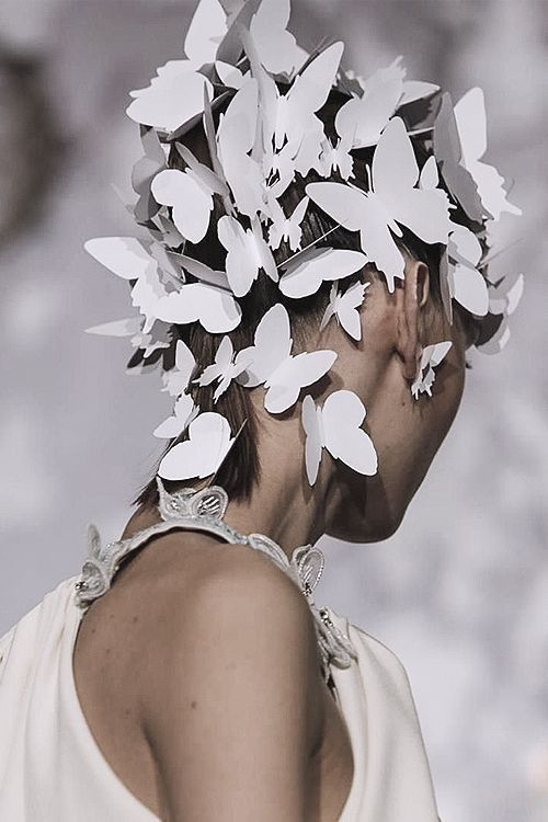 Alexis Mabille | Haute Couture | Spring 2014| ladies hat 1