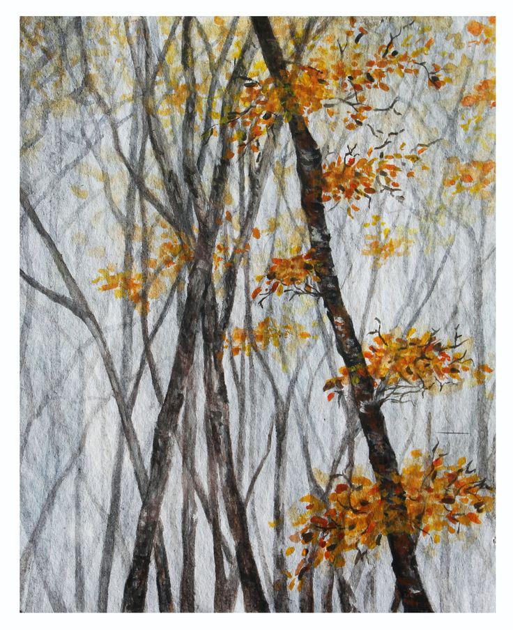 Watercolour Autumn