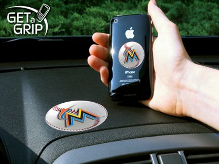 Miami Marlins 'Get a Grip' Cell Phone Holder (Set of 2)