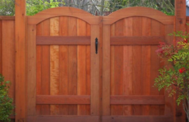 215 best images about privacy fence gates and walkway for Double garden gate designs