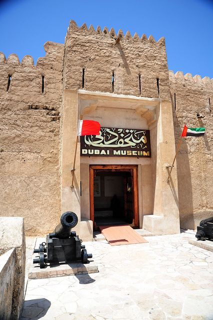 Dubai, UAE - Dubai Museum - A must see. Does the old world and the new beautifully.
