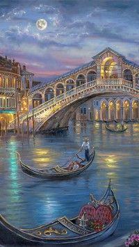 Weneccy gondolierzy