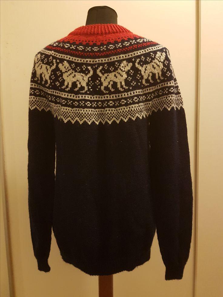 Marius-inspirert genser.....bak