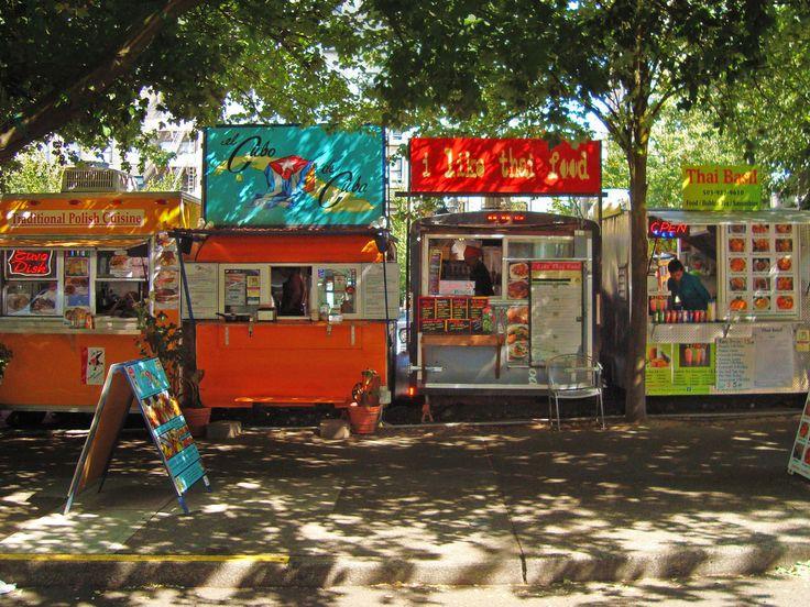 Best Food Cart Pods Portland