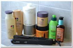 Fixing my Fried Hair: Products and Tricks that have worked for me!