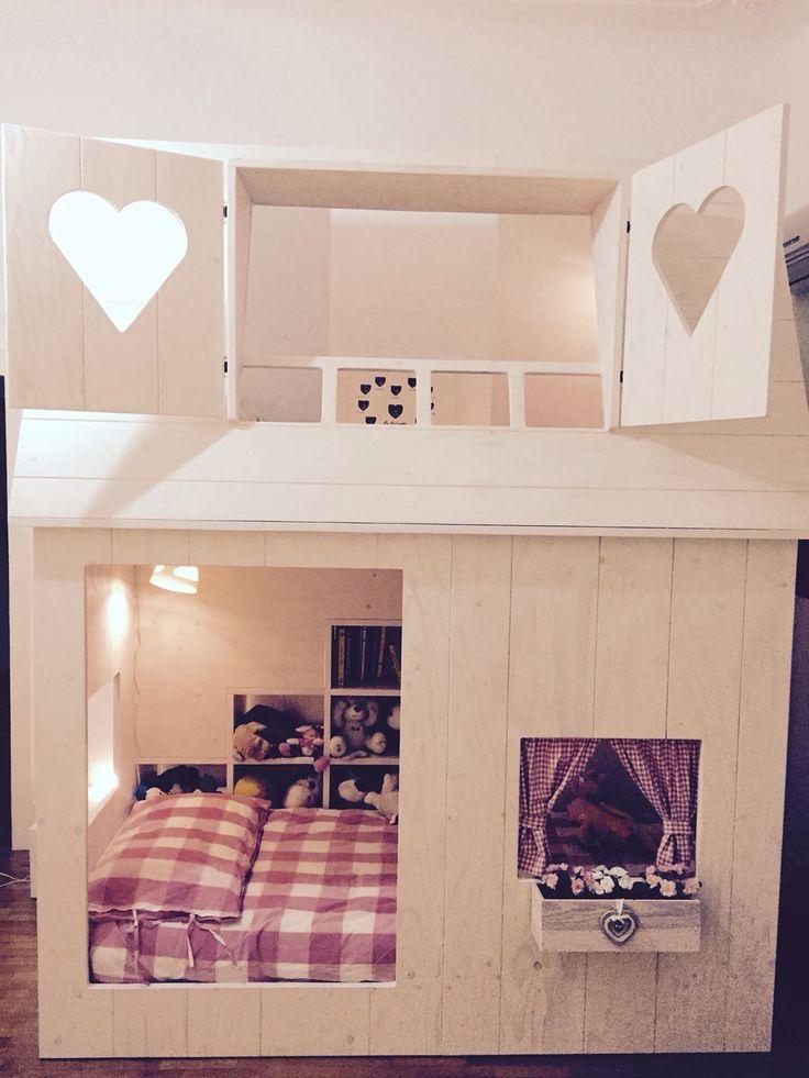 17 migliori idee su camere da letto a castello su pinterest letti a castello bianchi camere - Camere con letto a castello ...