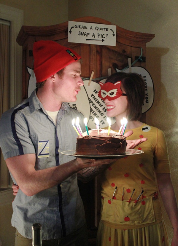 Wes Anderson Birthday party!