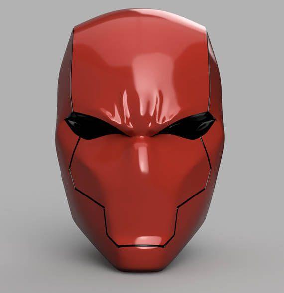 Red Hood Helmet Rebirth STL files