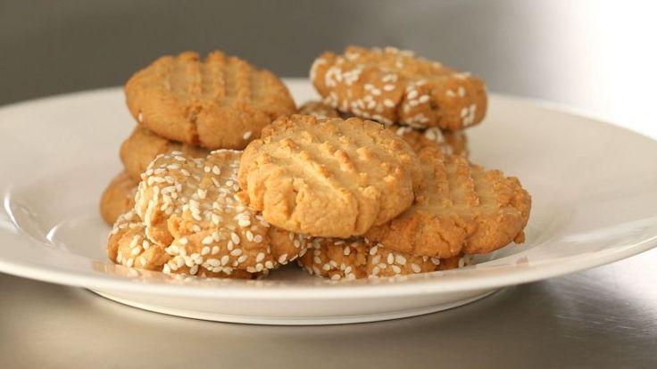 Πανεύκολα μπισκότα με ταχίνι