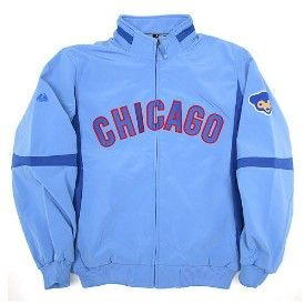 Get this Chicago Cubs Therma Base Cooperstown Premier Jacket at ChicagoTeamStore.com