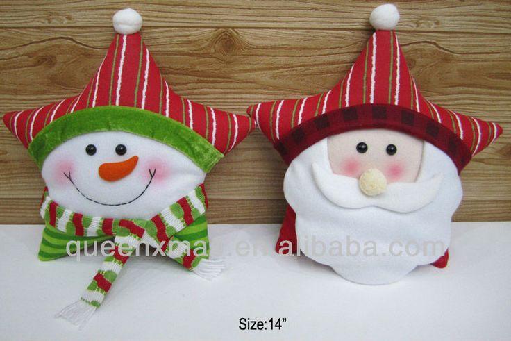 muñecos navideños de fieltro con moldes - Buscar con Google ...