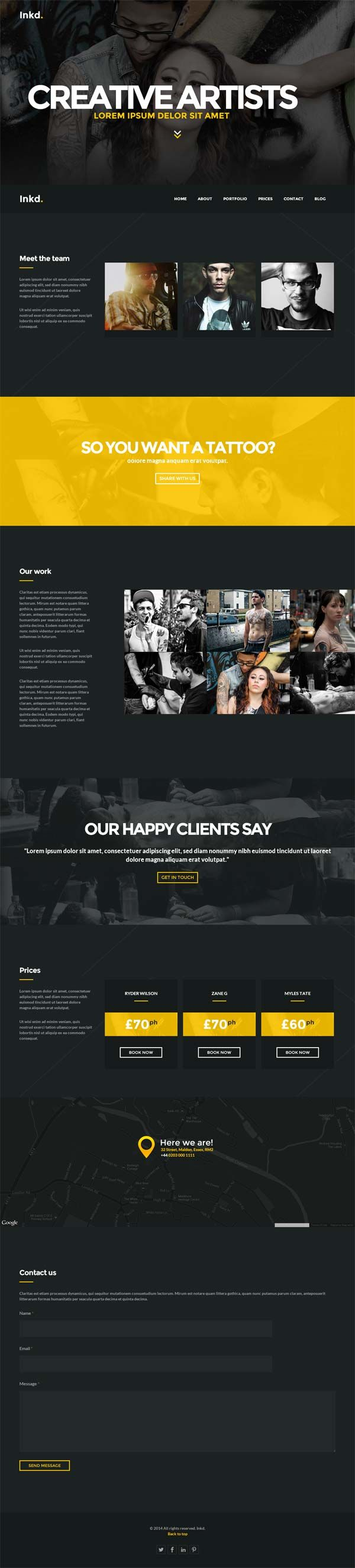 Generous Html5 Footer Template Images - Professional Resume Example ...