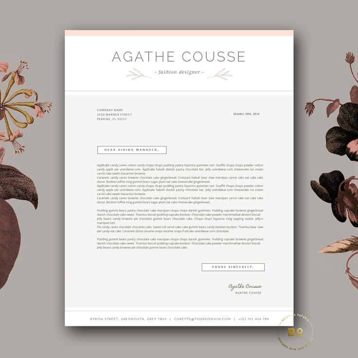 8 best Professional resume templates word editable images on - cover letter template freefashion design cover letter