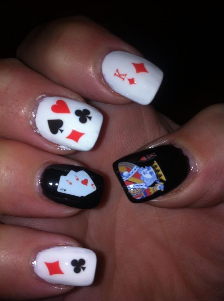 Poker nail decals - Casino hotel phoenix az