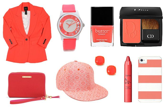 Crushing on Coral | Spring's hottest colour is everywhere. Why not add a little (or a lot) to your wardrobe.