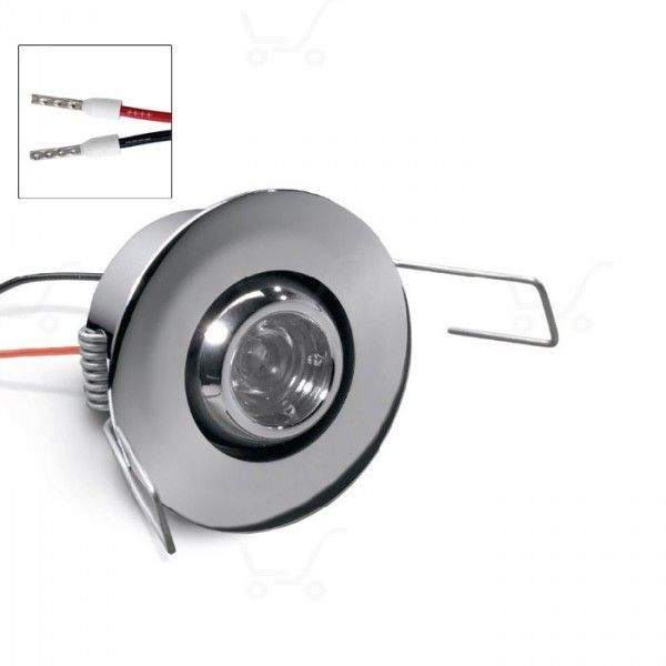 Ghilea - Adjustable optic recessed spotlight wall or ceiling mounting