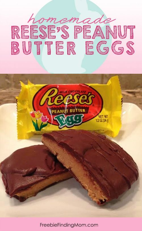 Copycat Recipe for Homemade Reese's Peanut Butter Eggs - What would Easter be without Reese's Peanut Butter Eggs? A lot less delicious that's for sure. This year don't buy them, save money and make your own batch (or two!).