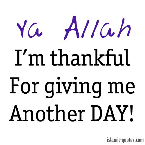 Everyday, Anytime..say Alhamdulillah!