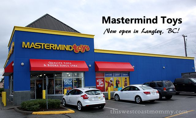 Mastermind Toys in Langley, BC   A favourite destination toy store for me