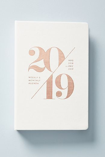 Mila 2018 2019 Planner Planners Monthly Planner Book Stationery