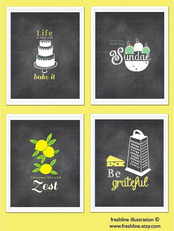 28 best Kitchen Art images on Pinterest | Kitchen walls, Kitchen ...