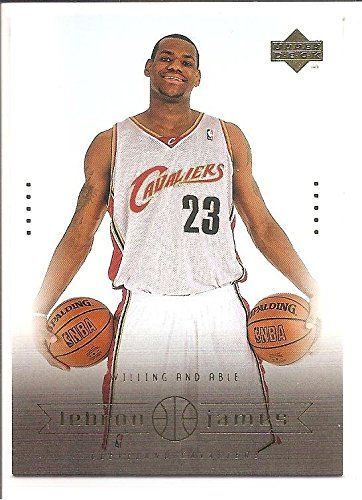 LeBron James Cleveland Cavaliers 2003-04 Upper Deck Willing and and Able Basketball Card 12 ** You can find more details by visiting the image link.