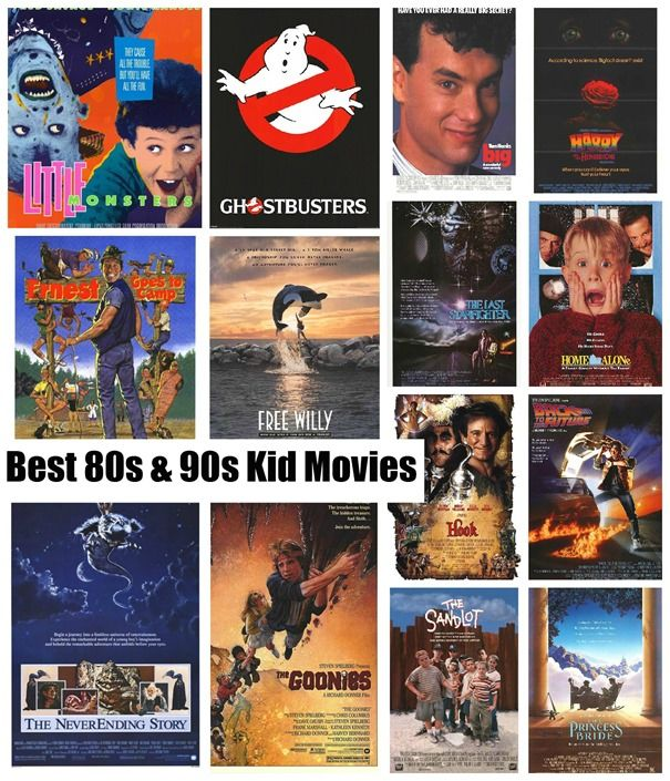 Just Dude It! Best 80's and 90's Kid Movies