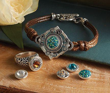 Lottie Dottie Filigree Bracelet & Ring   New jewelry line in store COMING SOON !!!!