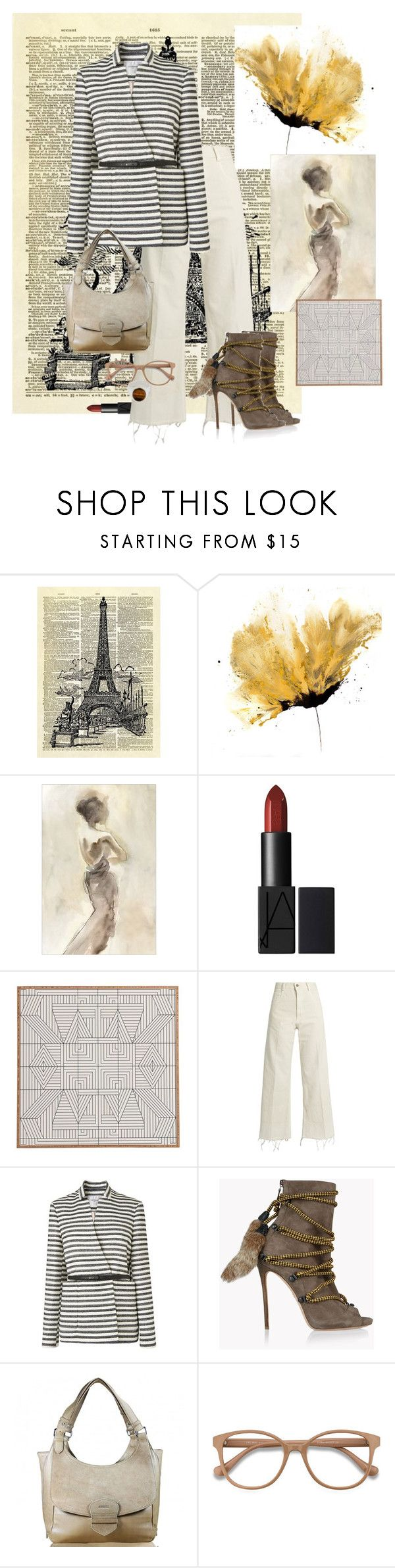 """""""Centered"""" by sherrie-mock ❤ liked on Polyvore featuring Rachel Comey, L.K.Bennett, Dsquared2, EyeBuyDirect.com and Tom Wood"""