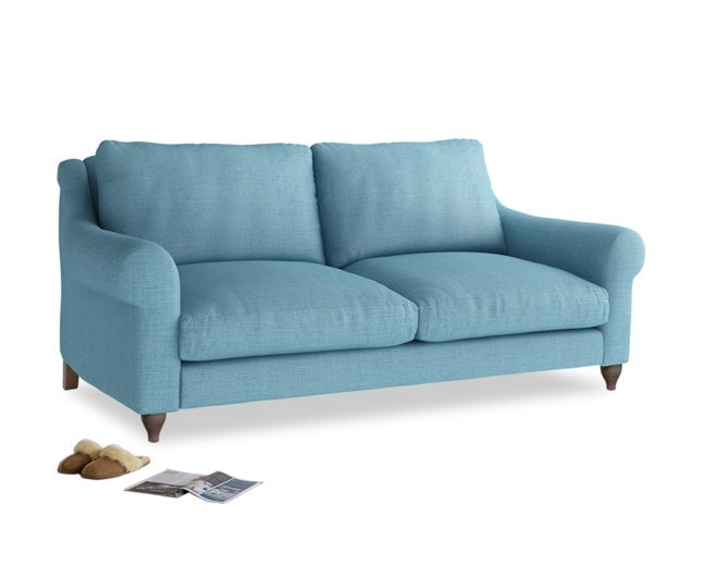 Amazing Freddie Is Our Wonderfully Squishy Sofa With An Upright Back Built By Our  Skilled Makers In