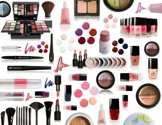 """ELF dupes for pretty much everything!  When ELF first came on the scene, they were pretty much """"meh."""" But they've really stepped up their game, and along with NYX, is one of my primary go-to's when it comes to makeup. It's good stuff and SO CHEAP! (some items are a DOLLAR at Target)"""