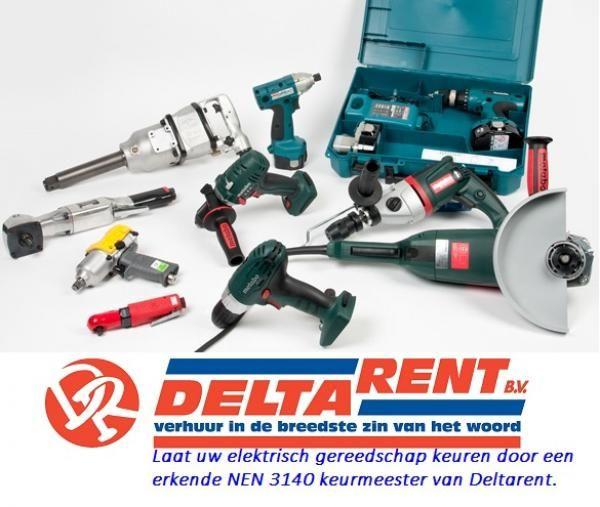 Nieuws - Laat uw elektrisch gereedschap keuren door een erkende NEN keurmeester van Deltarent. - DeltaRent